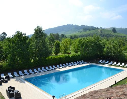 La piscina for Disposizione del piano piscina